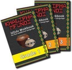 Picture of Khalipha Mfundi isiZulu Workbook Grade 1