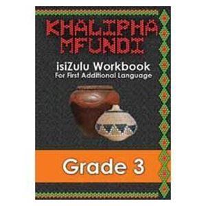 Picture of Khalipha Mfundi isiZulu Workbook Grade 3