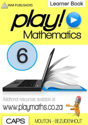 Picture of Play! Mathematics Grade 6 Learner Book