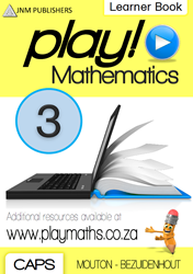 Picture of Play! Mathematics Grade 3 Learner Book