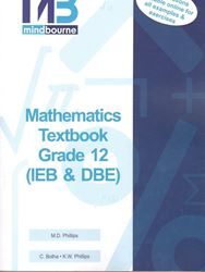 Picture of Mindbourne Mathematics Grade 12 Text Book