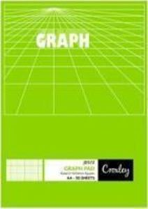 Picture of A4 50 Sheet Graph Pad 2/10/20mm
