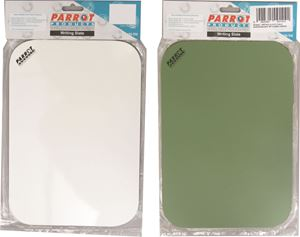 Picture of Parrot A4 Whiteboard and chalkboard carded