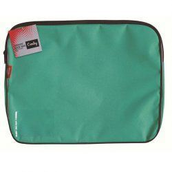 Picture of Croxley Canvas Gusset Book Bag - Teal Green