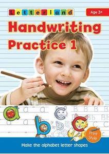 Picture of Handwriting Practice 1:  My Alphabet Handwriting Book