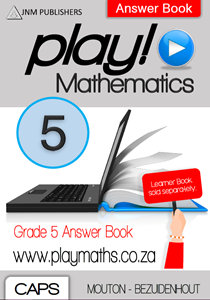 Picture of Play! Mathematics Grade 5 Answer Book