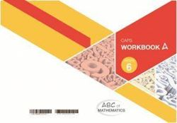 Picture of ABC of Mathematics Grade 6 Learner Workbook Book A