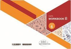 Picture of ABC of Mathematics Grade 6 Learner Workbook Book B