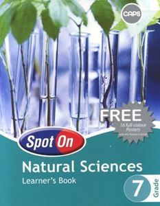 Picture of Spot On Natural Sciences Grade 7 Learner's Book