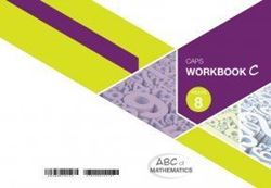 Picture of ABC of Mathematics Grade 8 Learner Workbook Book C