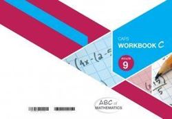 Picture of ABC of Mathematics Grade 9 Learner Workbook Book C