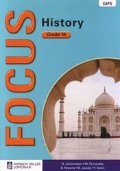 Picture of Focus History Grade 10 Learners Book (CAPS)