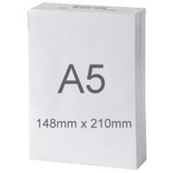 Picture of A5 White Copier Paper 80gsm Ream