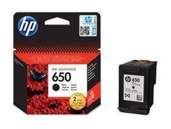 Picture of HP 650 Black Printer Ink Cartridge Original