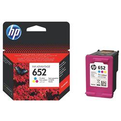 Picture of HP 652 Ink Advantage Tri-Colour Printer Cartridge Original