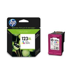 Picture of HP 123XL Tri-Colour Ink Cartridge