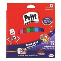 Picture of Pritt Jumbo Wax Crayons 12's