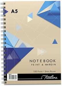 Picture of Treeline A5 Spiral Bound Note Book 100 Pages