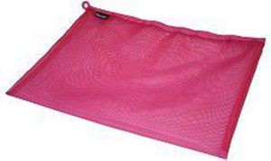 Picture of Bantex A4 Mesh Zippa Bag Pink