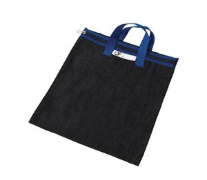 Picture of 4Kids Denim Library Book Bag with Handle - Blue