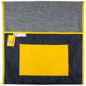 Picture of 4Kids Denim Chairbag 440mm With Pocket - Yellow