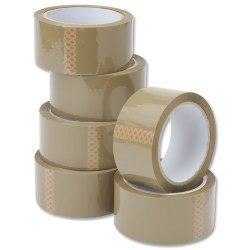 Picture of Unitac Packaging Tape 48mm x 50m Buff