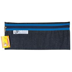 Picture of 4Kids 33 cm Denim Pencil Bag - Blue