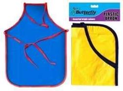 Picture of Kiddies Plastic Apron - Assorted Colours