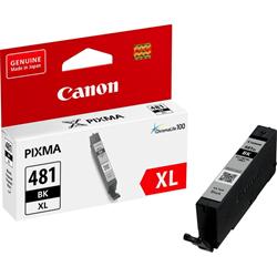 Picture of Canon CLI-481XL Black High Yield Printer Ink Cartridge Original