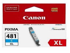 Picture of Canon CLI-481XL Cyan High Yield Printer Ink Cartridge Original