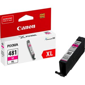 Picture of Canon CLI-481XL Magenta High Yield Printer Ink Cartridge Original