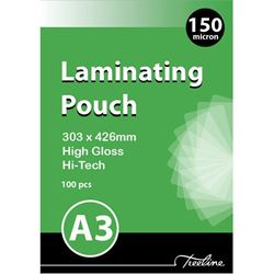 Picture of Treeline A3 Laminating Pouches 150 micron