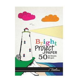Picture of Treeline A4 Bright Paper Project Pad 50 Sheets