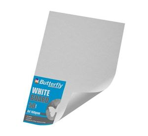 Picture of Butterfly A4 Project Board White 10's