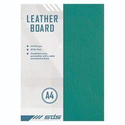 Picture of SDS A4 270gsm Leather Grain Board 50 Sheets Black