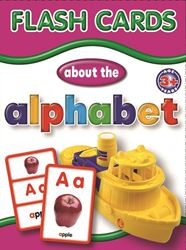 Picture of Educat Big Flash Cards About the Alphabet