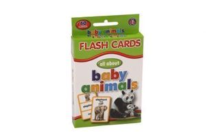 Picture of Educat Big Flash Cards All About Baby Animals