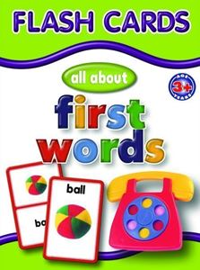 Picture of Educat Big Flash Cards All About First Words