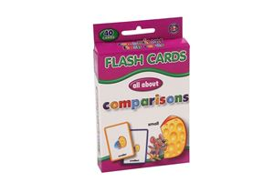 Picture of Educat Big Flash Cards All About Comparisons