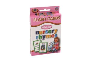 Picture of Educat Big Flash Cards All About Nursery Rhymes