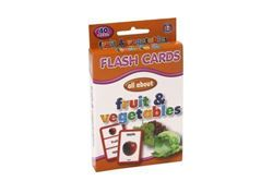 Picture of Educat Big Flash Cards All About Fruit and Vegetables