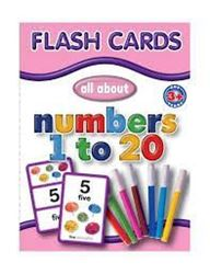 Picture of Educat Big Flash Cards All About Numbers 1 to 20