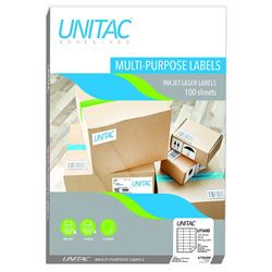 Picture of Unitac A4 Labels 64 x 33,9mm 24up