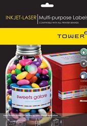 Picture of Tower W120 Multi Purpose Labels - A4