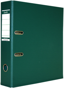 Picture of Bantex Lever Arch File 70mm PVC Green