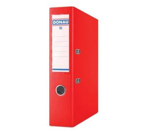 Picture of Donau A4 Lever Arch File PP 75mm Red