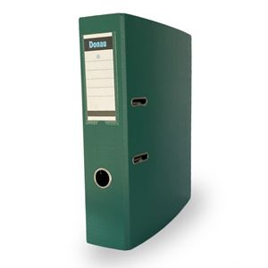 Picture of Donau A4 Lever Arch File PP 75mm Green
