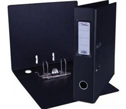 Picture of Treeline A4 Lever Arch File PP 70mm Black