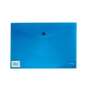 Picture of Croxley A4 Carry Folder with Button Blue
