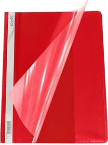 Picture of Bantex A4 Quotation Folder Red